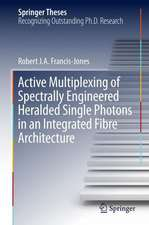 Active Multiplexing of Spectrally Engineered Heralded Single Photons in an Integrated Fibre Architecture