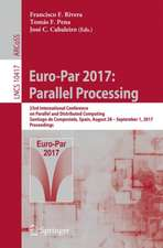 Euro-Par 2017: Parallel Processing: 23rd International Conference on Parallel and Distributed Computing, Santiago de Compostela, Spain, August 28 – September 1, 2017, Proceedings