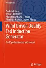 Wind Driven Doubly Fed Induction Generator: Grid Synchronization and Control