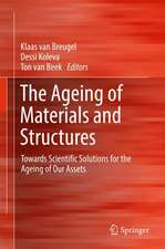 The Ageing of Materials and Structures: Towards Scientific Solutions for the Ageing of Our Assets