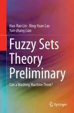 Fuzzy Sets Theory Preliminary: Can a Washing Machine Think?