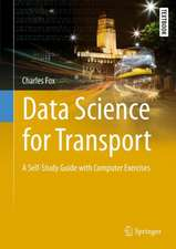 Data Science for Transport: A Self-Study Guide with Computer Exercises