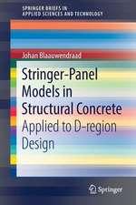 Stringer-Panel Models in Structural Concrete: Applied to D-region Design