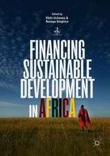 Financing Sustainable Development in Africa