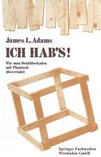 ICH HAB's!: Wie man Denkblockaden mit Phantasie überwindet