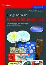 Fundgrube für die Freiarbeit Englisch