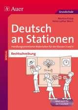 Rechtschreibung an Stationen 3-4