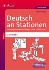 Deutsch an Stationen Spezial Grammatik 1-2