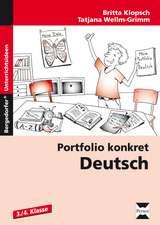 Portfolio konkret: Deutsch