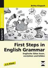 First Steps in English Grammar