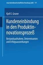 Kundeneinbindung in den Produktinnovationsprozeß: Bestandsaufnahme, Determinanten und Erfolgsauswirkungen