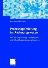 Prozessoptimierung im Rechnungswesen: Mit Re-Engineering Transaktions- und Abschlussprozesse optimieren