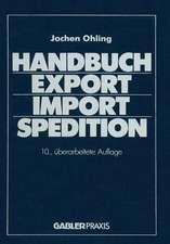 Handbuch Export — Import — Spedition