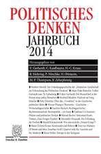 Politisches Denken. Jahrbuch 2014