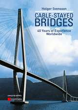Cable–Stayed Bridges: 40 Years of Experience Worldwide