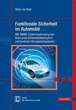 Funktionale Sicherheit im Automobil
