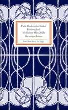 Briefwechsel mit Rainer Maria Rilke