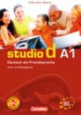 studio d. Gesamtband 1. Kurs- und Arbeitsbuch