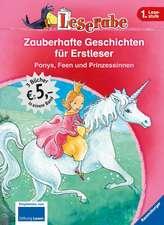 Leserabe: Zauberhafte Geschichten für Erstleser. Ponys, Feen und Prinzessinnen