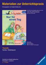 Materialien zur Unterrichtspraxis - Manfred Mai: Nur für einen Tag