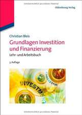 Grundlagen Investition und Finanzierung: Lehr- und Arbeitsbuch