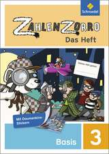 Zahlenzorro - Das Heft. Basisheft 3