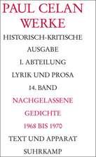 Nachgelassene Gedichte 1968 - 1970