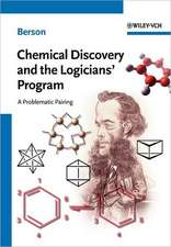 Chemical Discovery and the Logicians′ Program
