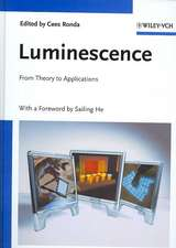 Luminescence: From Theory to Applications