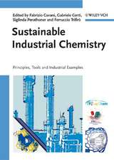 Sustainable Industrial Chemistry: Principles, Tools and Industrial Examples