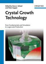 Crystal Growth Technology: From Fundamentals and Simulation to Large–scale Production