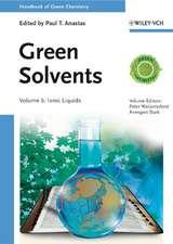 Green Solvents: Ionic Liquids