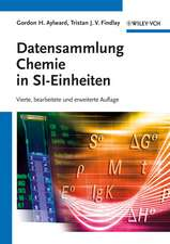 Datensammlung Chemie in SI–Einheiten
