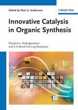 Innovative Catalysis in Organic Synthesis: Oxidation, Hydrogenation, and C–X Bond Forming Reactions