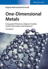 One–Dimensional Metals: Conjugated Polymers, Organic Crystals, Carbon Nanotubes and Graphene
