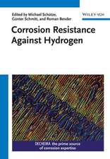 Corrosion Resistance Against Hydrogen