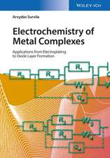 Electrochemistry of Metal Complexes: Applications from Electroplating to Oxide Layer Formation