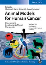 Animal Models for Human Cancer: Discovery and Development of Novel Therapeutics