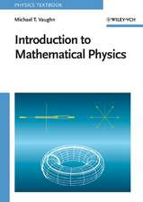 Introduction to Mathematical Physics