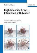 High–Intensity X–rays – Interaction with Matter: Processes in Plasmas, Clusters, Molecules and Solids