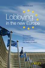 Lobbying in the new Europe: Successful representation of interests after the Treaty of Lisbon