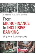 From Microfinance to Inclusive Finance: Why Local Banking Works