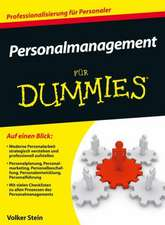 Personalmanagement für Dummies