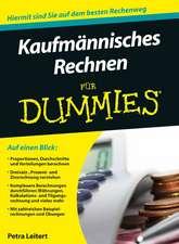 Kaufmannisches Rechnen fur Dummies
