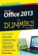 Office 2013 für Dummies