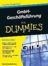 GmbH–Geschäftsführung für Dummies