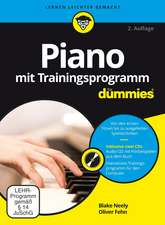 Piano mit Trainingsprogramm für Dummies