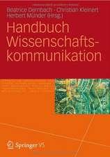 Handbuch Wissenschaftskommunikation