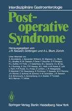 Postoperative Syndrome