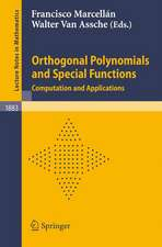 Orthogonal Polynomials and Special Functions: Computation and Applications